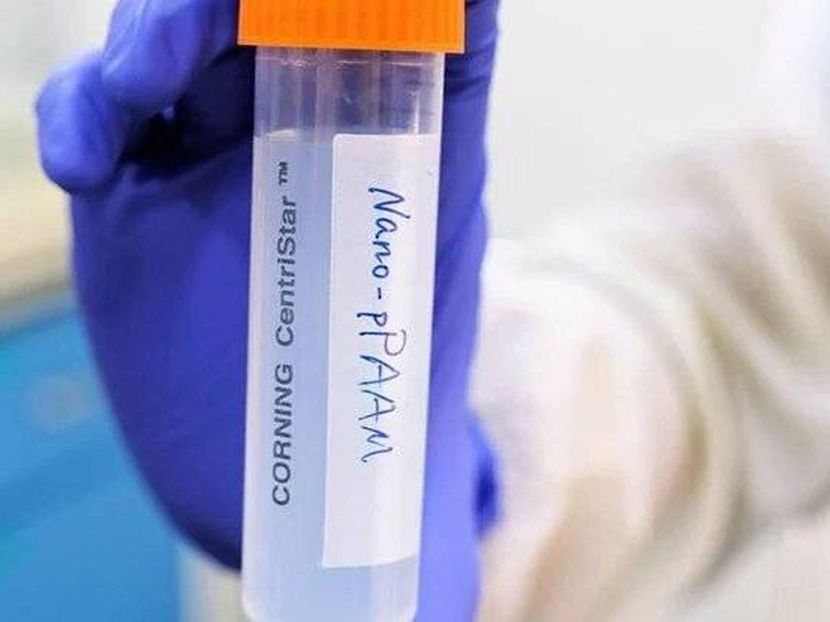 Foto: La nanopartícula que provoca que las células cancerígenas mueran. Foto: Universidad Tecnológica de Nanyang