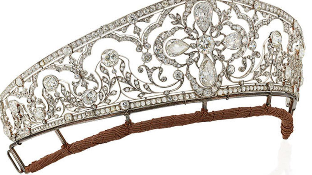 Foto: La tiara que ha subastado Christie's.