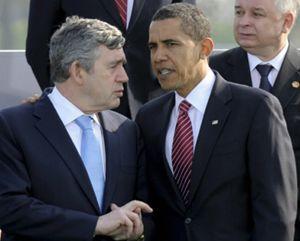 Castro mete cizaña: acusa a Brown tratar con prejuicios a Obama por ser negro