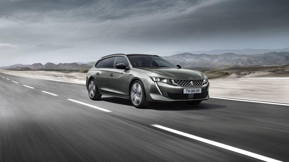 Foto: El nuevo Peugeot 508 es un vehículo familiar con un aspecto muy dinámico.