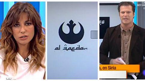 El programa de Mariló confunde el logo de Star Wars con el de Al-Qaeda