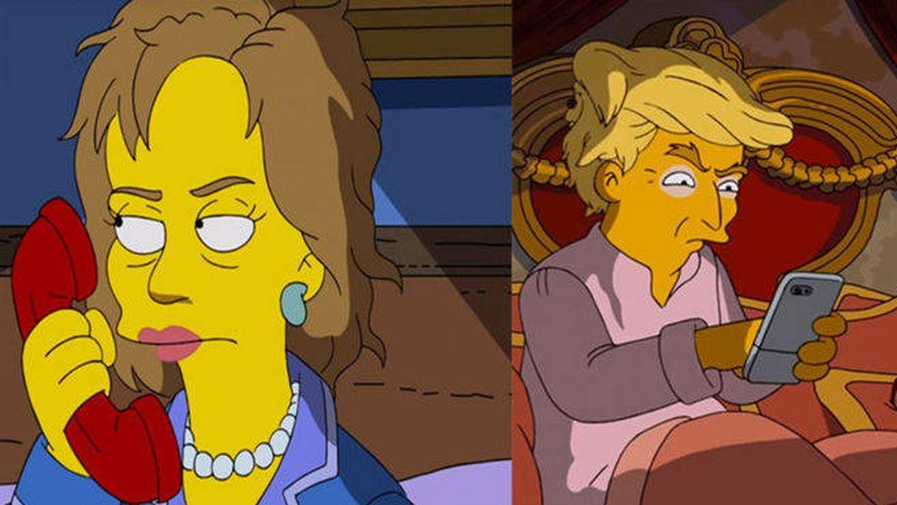 'Los Simpson' vuelven a burlarse de Donald Trump