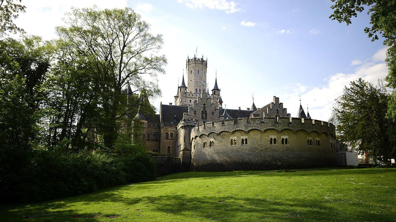 Detalle del muro del castillo. (Getty)