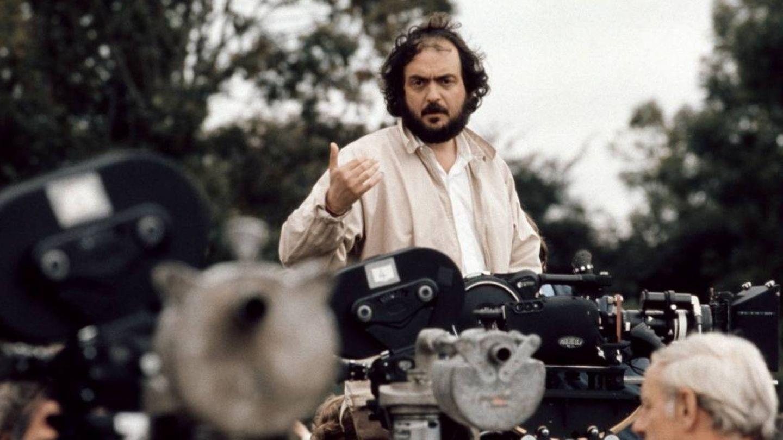 Stanley Kubrick, en pleno rodaje. (Movistar)