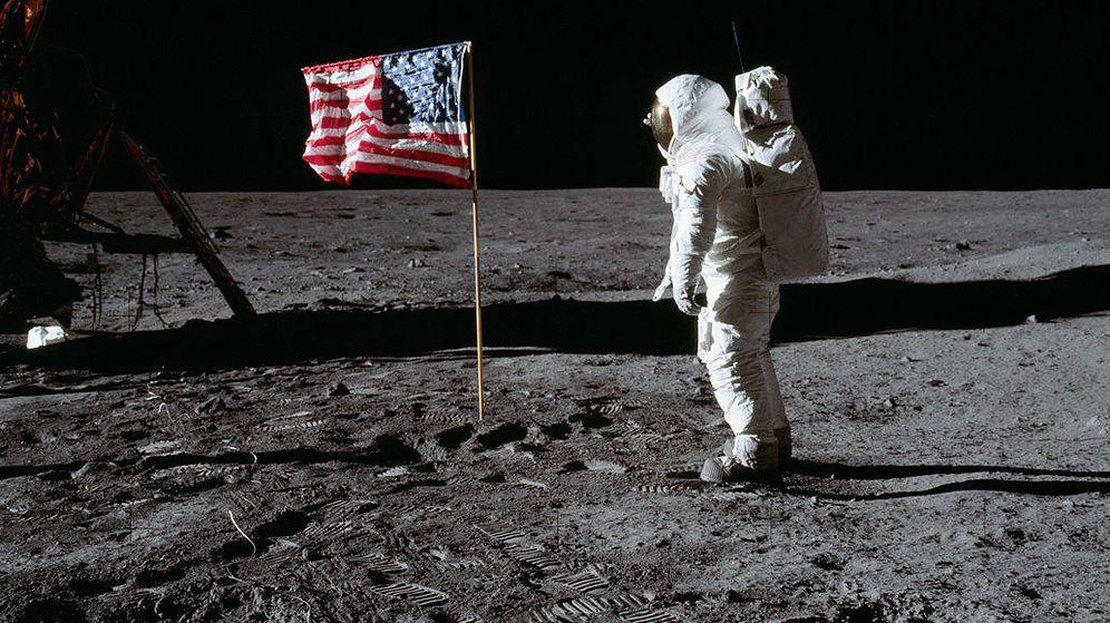 Foto: Neil Armstrong pisa la Luna (C.C)