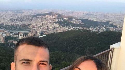La romántica cena de Jordi Alba y su novia Romarey Ventura