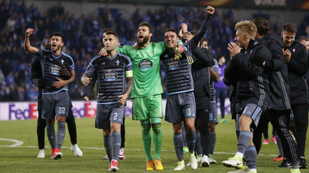 Foto: Un equipo gallego no llegaba a semifinales de una competición europea desde el Deportivo en la Champions en el 2004. (Reuters)