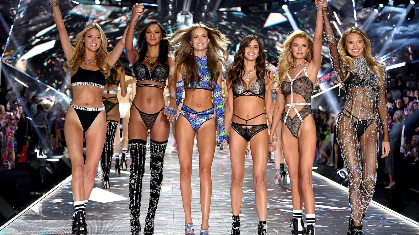 Foto: Victoria's Secret Fashion en 2018. (Getty)