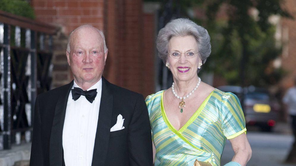 Foto: Richard junto a la princesa Benedicta (Gtres)
