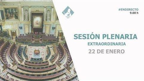 Siga en directo la sesión en el Congreso con decretos para el alquiler y los funcionarios
