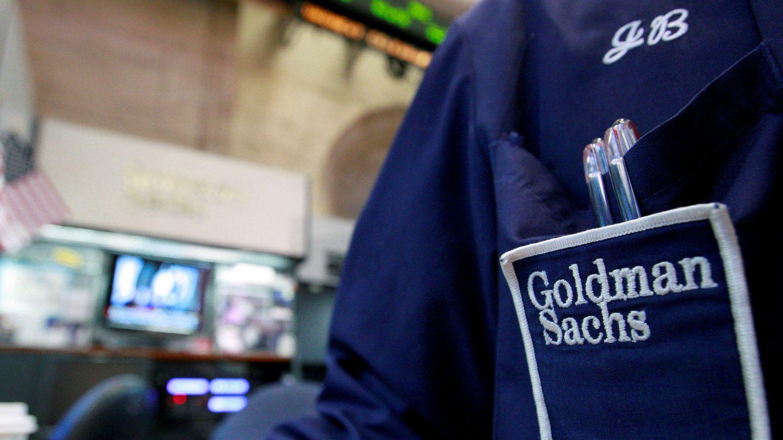 Foto: Trader de Goldman Sachs en Wall Street