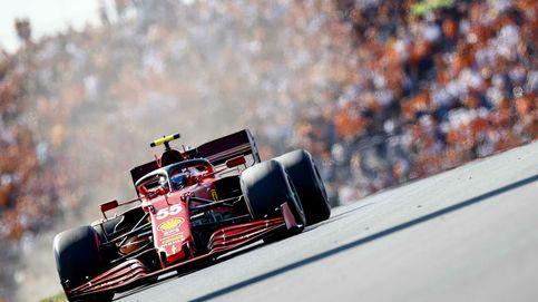 Carlos Sainz o la frustración de correr deslizándose y mirando más al retrovisor