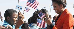 Michelle Obama se convierte en la nueva estrella de los 'realities'