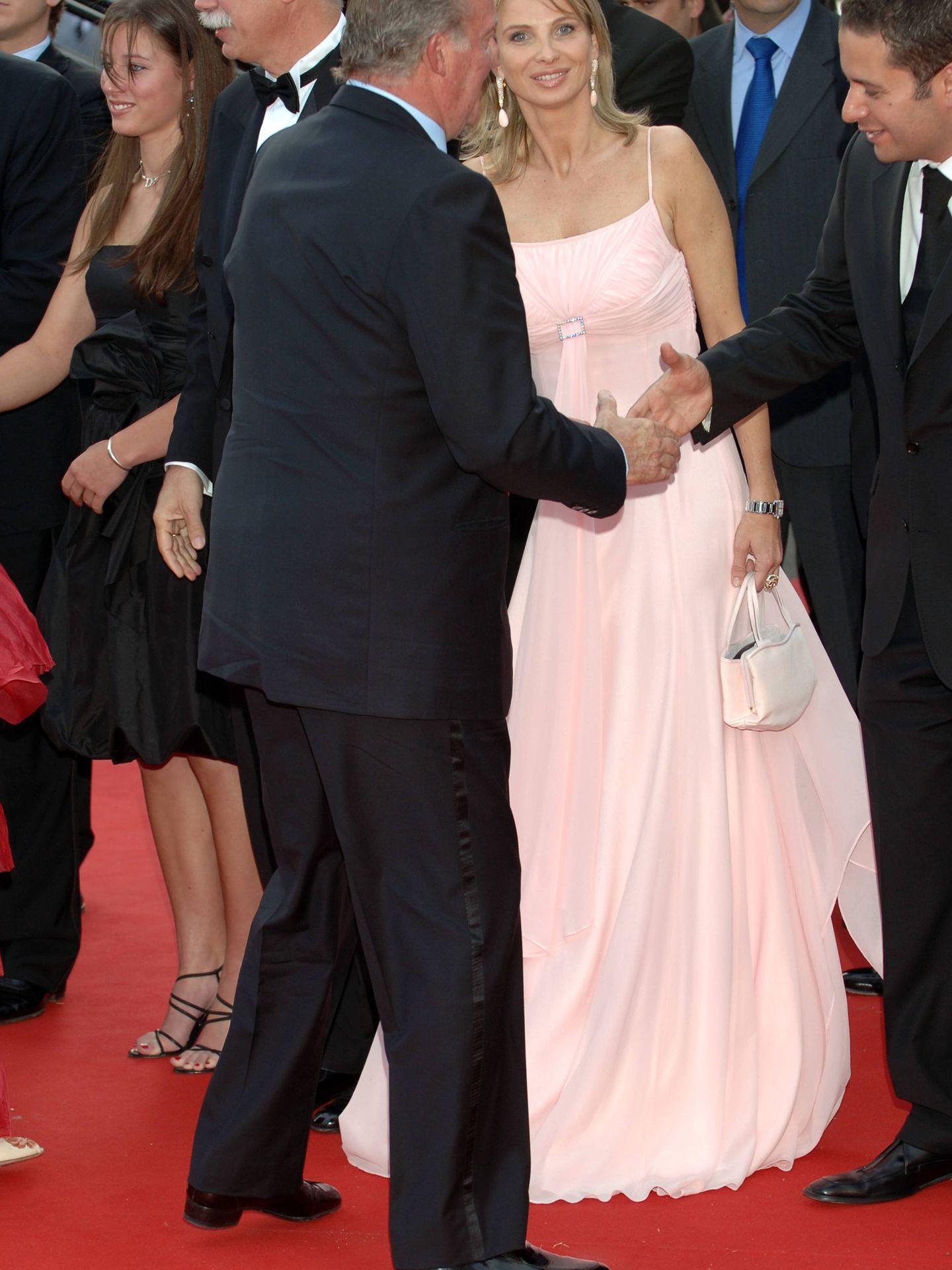 Corinna y el rey Juan Carlos, juntos durante un evento en 2006. (Getty)