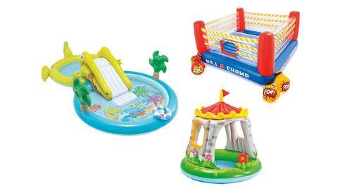 Los castillos hinchables para niños con más juegos y horas de diversión