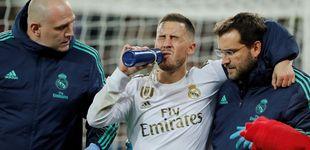 Post de El Real Madrid, en pánico con Eden Hazard por el miedo a la dureza de los rivales