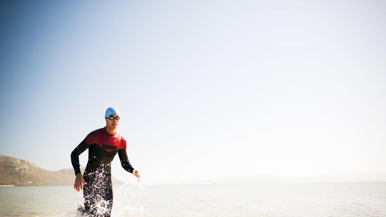Foto: El triatlón es un deporte que requiere un entrenamiento muy duro. (iStock)