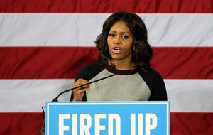 Michelle Obama celebra su 51 cumpleaños en la Casa Blanca