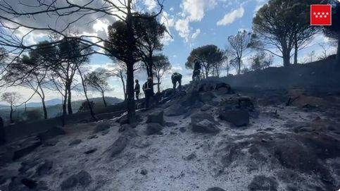 Dan por controlado el incendio en el embalse de San Juan (Madrid)