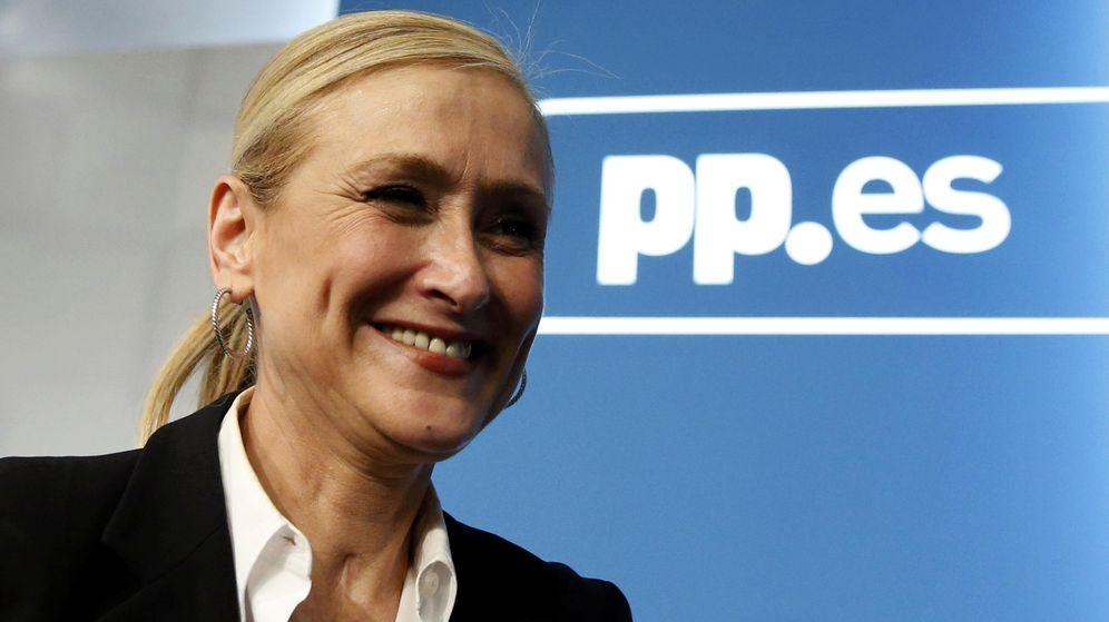 Foto: La candidata del PP a presidir la Comunidad de Madrid, Cristina Cifuentes. (EFE).