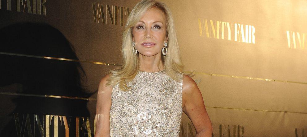 Foto: Carmen Lomana durante los premios personaje del año de 'Vanity Fair' de este jueves (Gtres)
