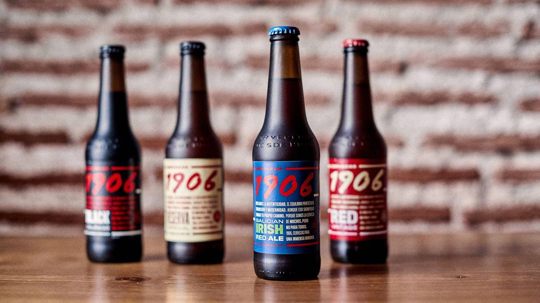 La familia de Cervezas 1906.