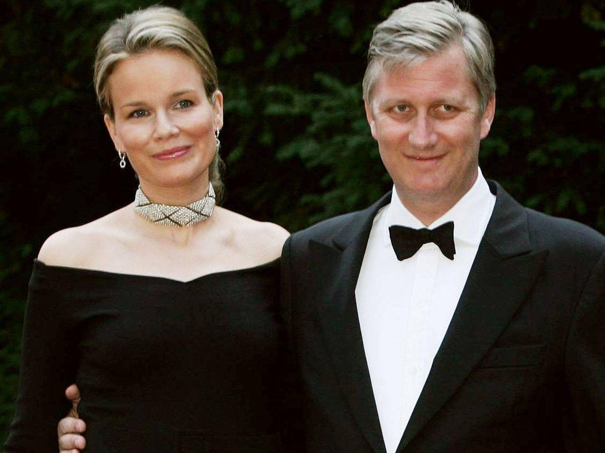 Foto: Felipe y Matilde de Bélgica, en una imagen de archivo. (Getty)