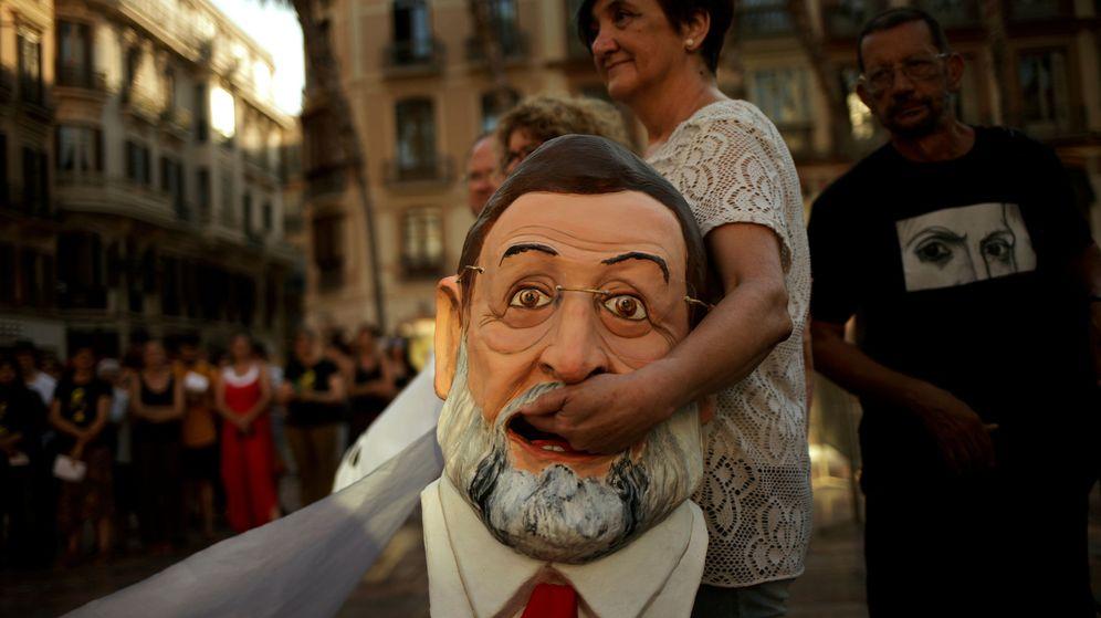 Foto: Manifestación contra la pobreza global celebrada en Málaga en junio (Reuters)