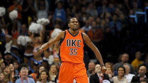 Durant se echa a los Thunder a la espalda para remontar una desventaja de 16 puntos