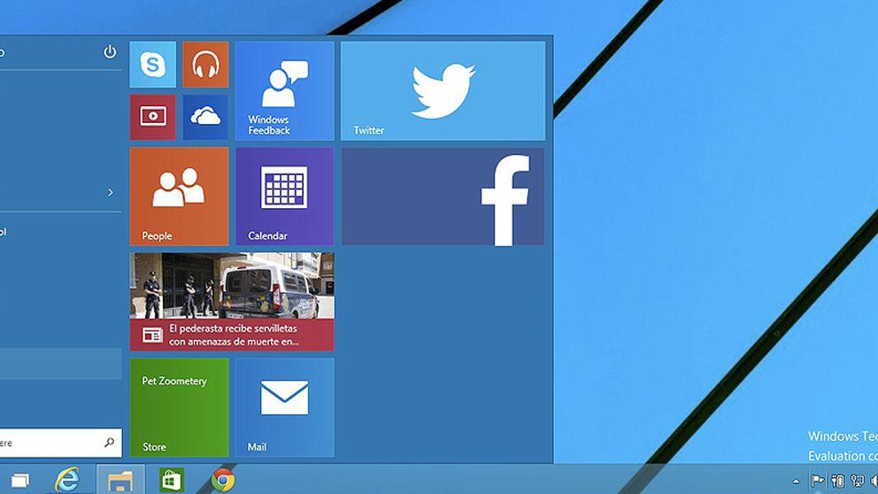 Probamos Windows 10: la venganza del ratón