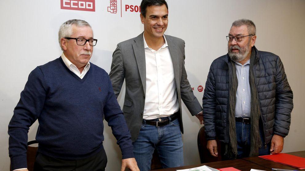 Los sindicatos piden a Sánchez subir el despido pero no concreta si lo hará