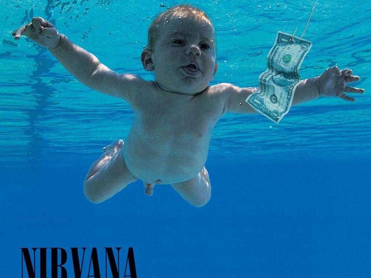 Foto: Portada del disco 'Nevermind' de Nirvana.