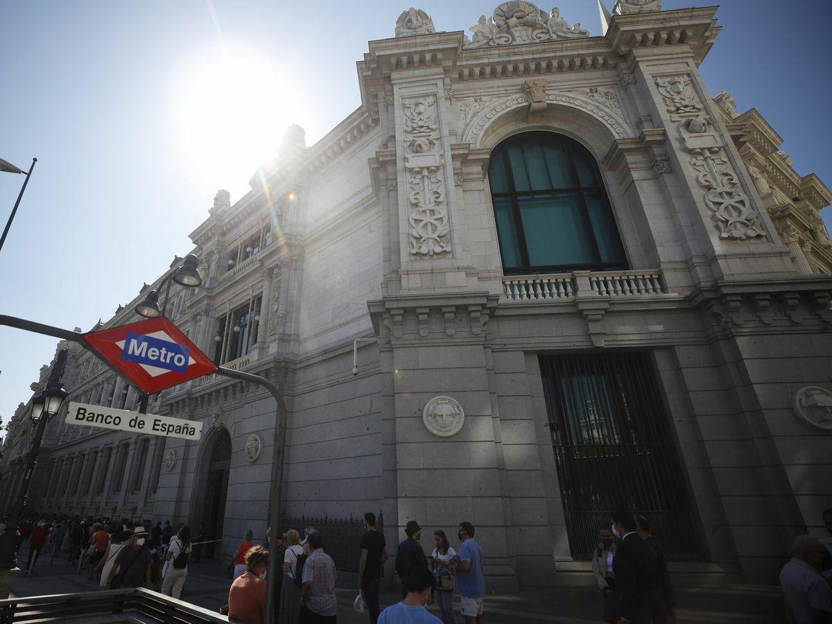 Foto: Sede del Banco de España, en Madrid. (EFE)