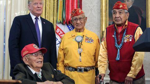Trump genera polémica al bromear sobre Pocahontas en una reunión con navajos