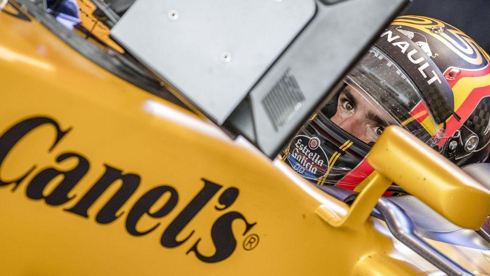 Foto: Carlos Sainz en su Renault. (EFE)