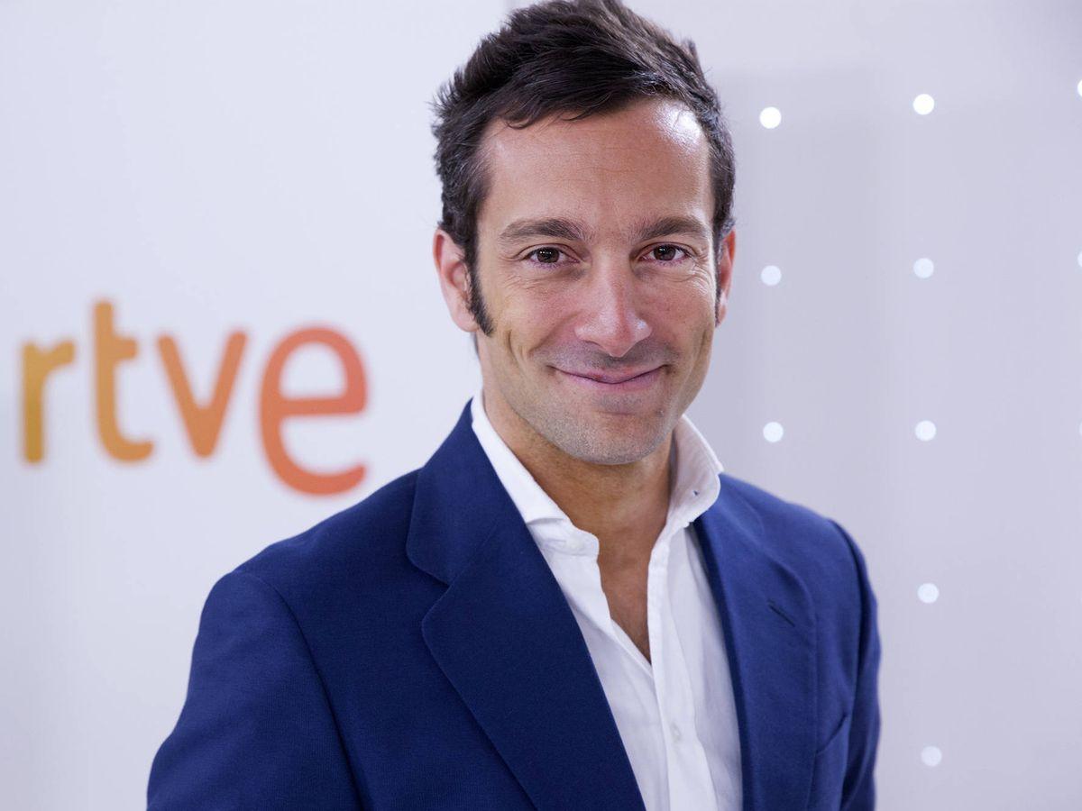 Foto: Álvaro Zancajo, en su etapa en TVE. (EFE)