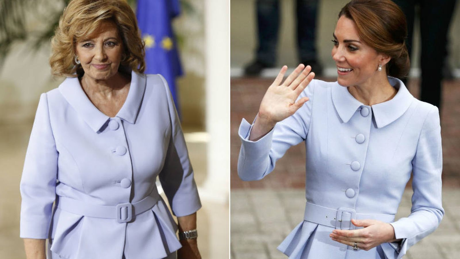 Foto: La duquesa de Cambridge y María Teresa Campos.