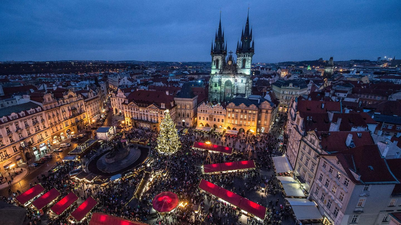La 'Ciudad Vieja', el casco viejo de Praga (EFE)