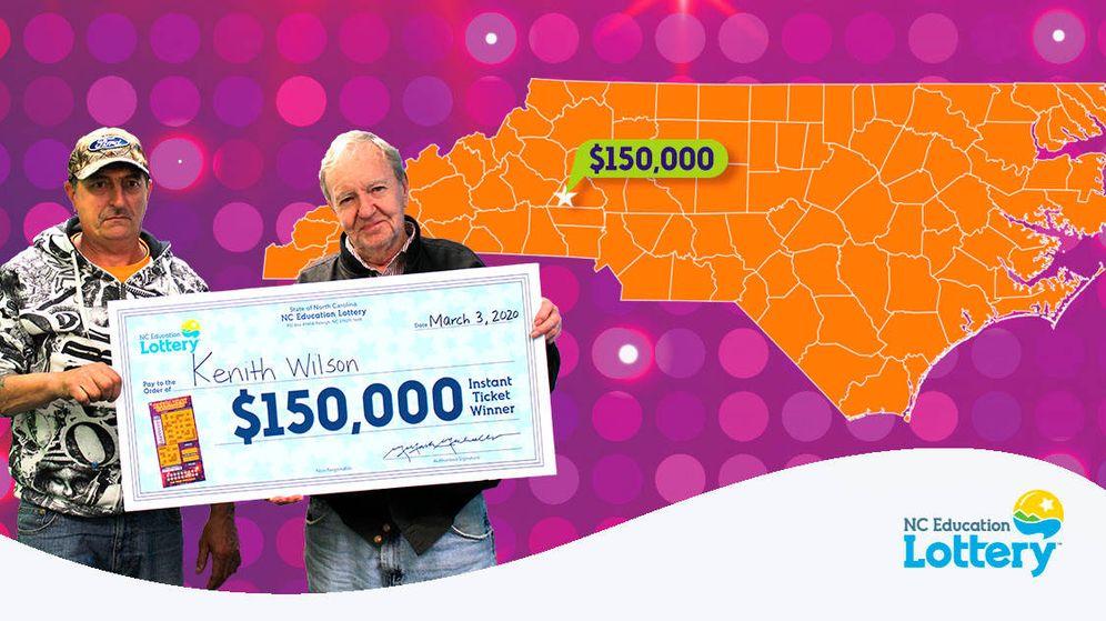 Foto: Kenith Wilson, a sus 83 años, hará el viaje que siempre quiso hacer gracias a la lotería (Foto: NC Lottery)