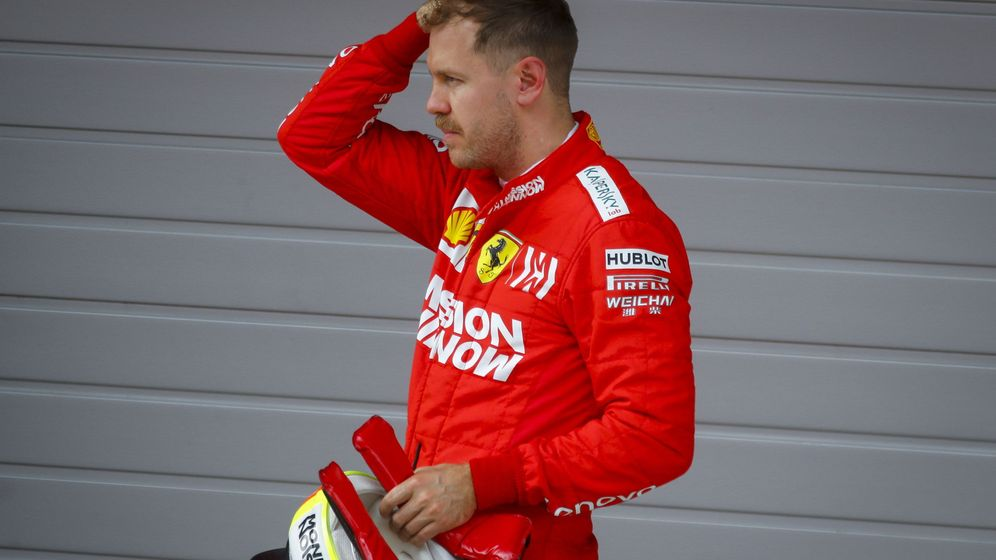 Foto: Sebastian Vettel en el pasado GP de China. (EFE)
