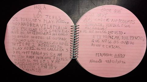 """""""¿Las chicas no podemos conducir?"""": la carta de una niña a Playmobil y Porsche"""