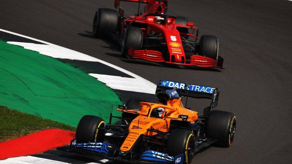 Espectacular: Del hotel al circuito, Carlos Sainz ya sabe cómo es ser piloto Ferrari