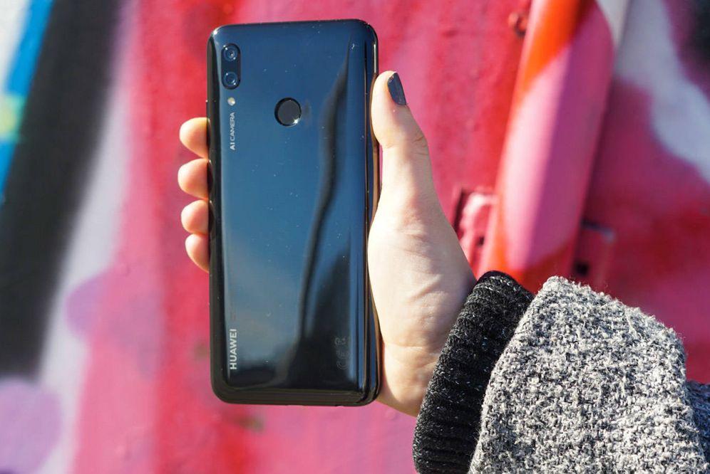 Foto: El Huawei P Smart de 2019. (M.Mcloughlin)