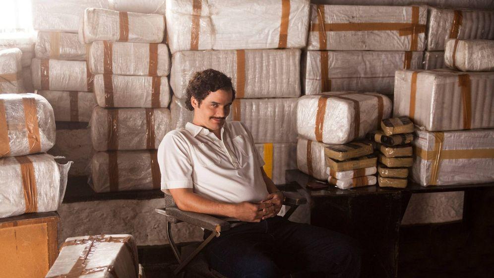 Foto: La que liaste, Pablo Escobar... (Fotograma de la serie 'Narcos')