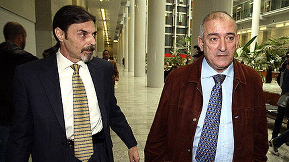 Foto: Juan Ignacio Blanco y Fernando García, en 'El caso Alcàsser'. (Netflix)
