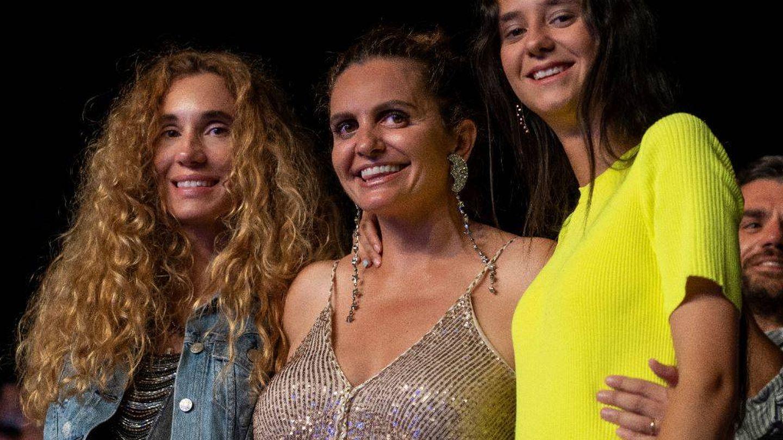 La fundadora de Starlite con Blanca Cuesta y Victoria Federica de Marichalar. (Foto: Equipo Starlite)