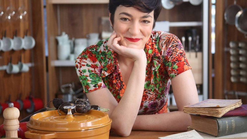 Foto: Ana Vega, 'Biscayenne', autora del libro 'Cocina viejuna'.