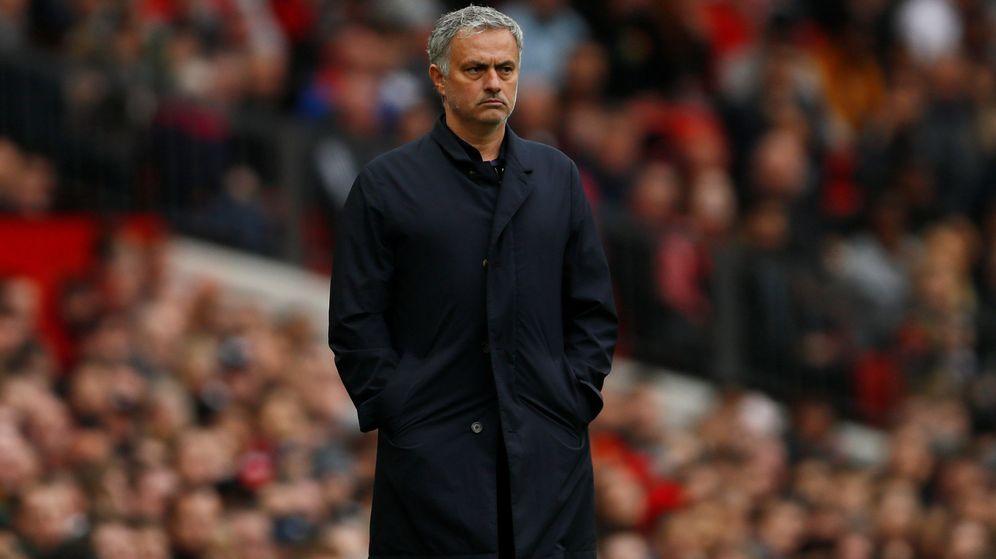 Foto: José Mourinho la pasada jornada en Old Trafford. (Reuters)