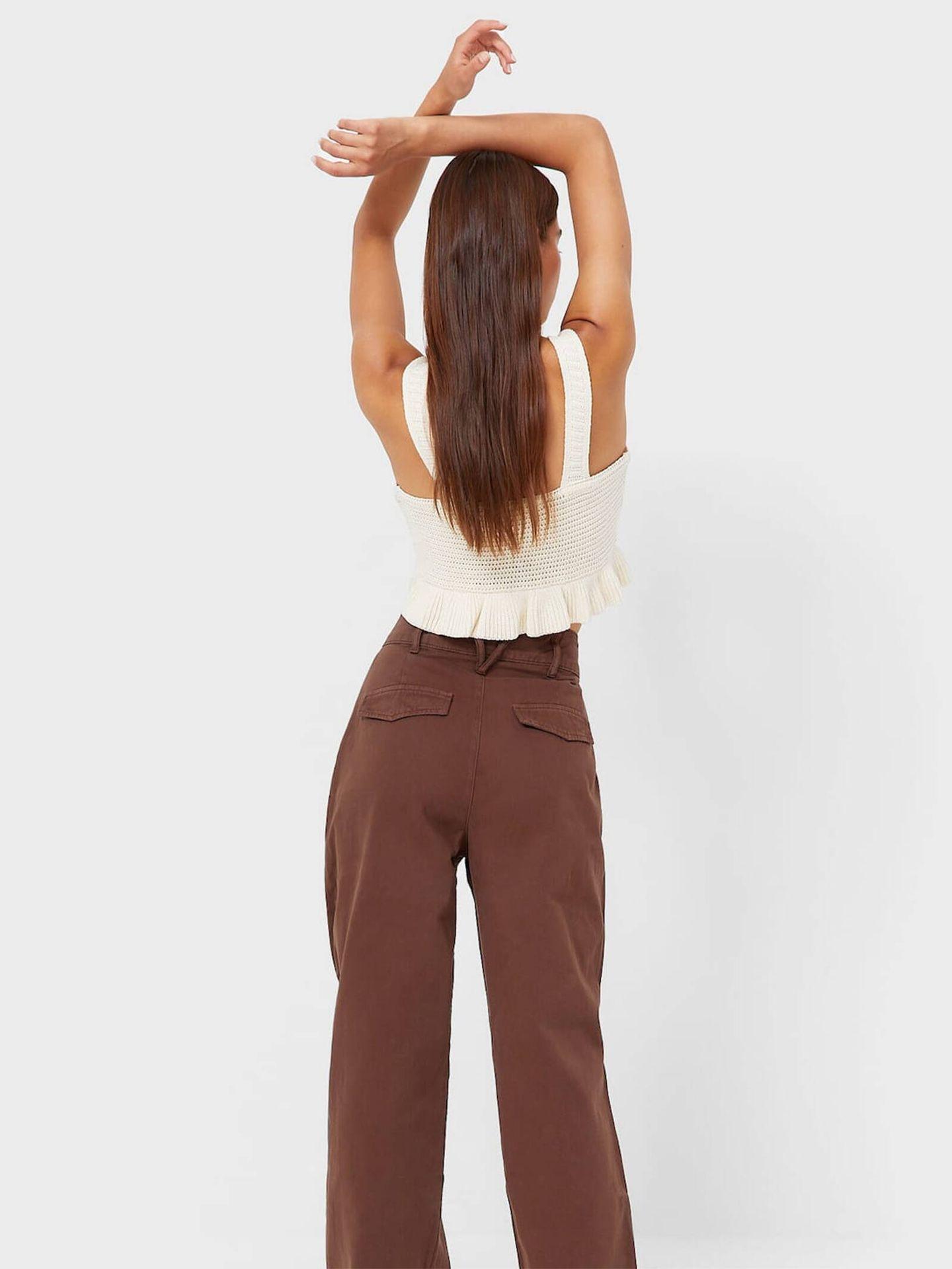 El pantalón de Stradivarius que necesitas en tu armario porque es un diez. (Cortesía)