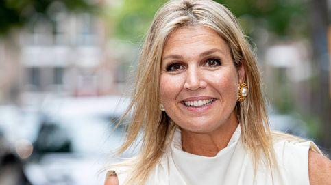 La vuelta al trabajo de Máxima de Holanda: look de Zara y joyas vintage